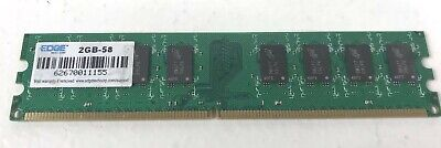 Edge 2GB (1x2GB-58) PC2-6400 DDR2-800 Desktop DIMM Memory RAM 2GB-58 - Edge 2gb Pc