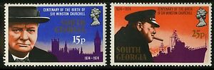 South-Georgia-1974-Scott-39-40-MNH-Set