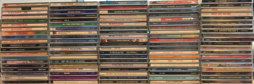 100 CD Collection  CDs - Resale, Wholesale *NO CASES* Yes, Cream, Styx, The Cars