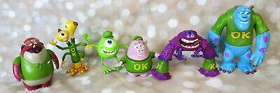 Disney Pixar Monsters University Action Figures Lot Spin Master Monsters Inc