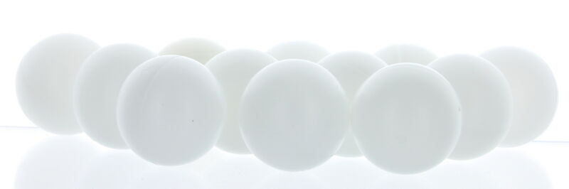 48 Beer Ping Pong Balls Table Tennis Washable Drinking White