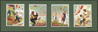 Scott #5401-04 2019 State and County Fairs (Singles Set of 4) 2019 MNH