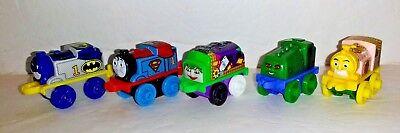 Thomas and Friends MINIS lot of 5 DC Batman Joker Superman Killer Croc Hawkman