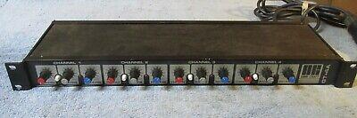 Vintage OMNI-CRAFT GT-4A Noise Gate 4 Channel Compressor/Limiter Rack Mount J610