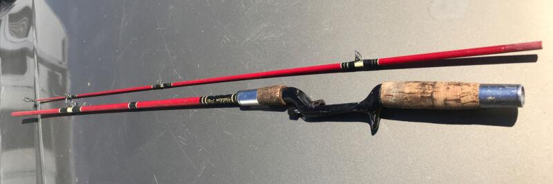 "VTg HEDDON PAL MARK I 6756, 6'6"" 2 PIECE Fiberglass Ferrule Casting Fishing Rod"