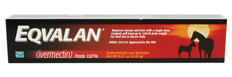 Eqvalan De-Wormer For Horses, 0.21 oz. Paste