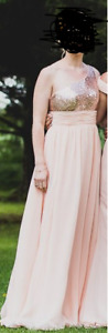 Bridesmaid dress. Worn once. No alterations done to it