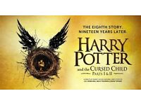 x 2 Harry Potter and Cursed Child Tickets (Both parts, different days!)