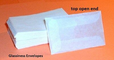 Glassines Envelopes #1-1 3/4x2 7/8,1 Lot of 1000ea (GE1-1000)