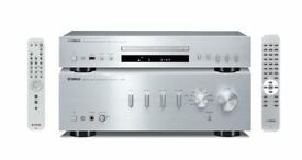 YAMAHA A-S501Amplifier + YAMAHA CD-S300 CD Player Silver