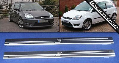 Ford Fiesta Zetec 'S' MK6 2002 - 2008 2Dr Sill Protectors Kick Plates Sills