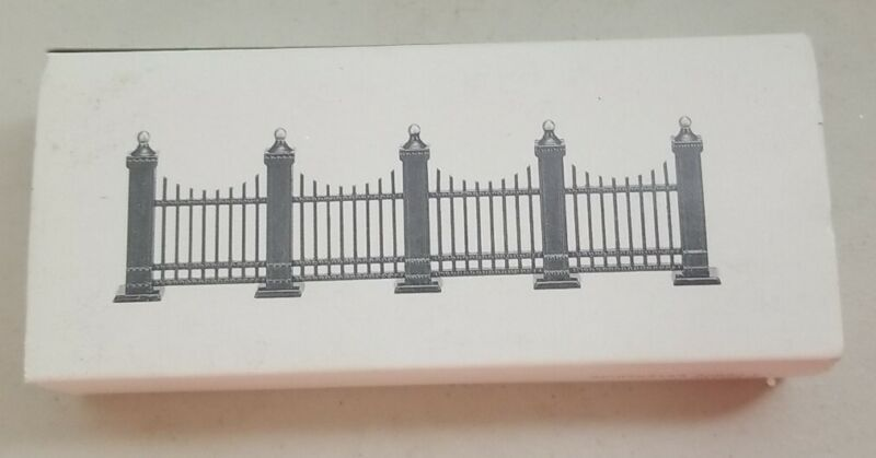 """Department 56 """"Village Wrought Iron Fence Extensions"""" #5515-8 9 Piece Set"""