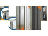 FLASH SALE- Designer Radiator- Chrome Single