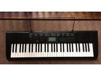 Casio Electric Keyboard CTK-1150 & Stand