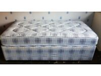 Divan Single Bed and Mattress