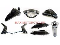 HONDA VISION NSC 110 2012 2013 2014 2015 2016 BODY PANEL FAIRING SET IN BLACK OR SILVER