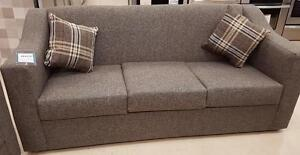 Canadian Made Fabric Sofa on Sale- Brand New Sofa Sale WITH CUSHIONS (AD 76)