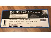 Ed Sheeran - Cardiff 24th June