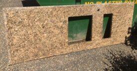 Granite kitchen worktops - used