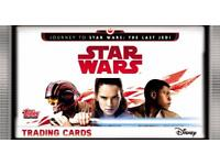 Topps Journey to Star Wars : The Last Jedi Trading Cards Swaps.