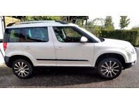 Stunning Skoda Yeti 4x4 with Laurin and Klement trim