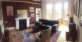 Double room in beautiful Southside (Glasgow) flat