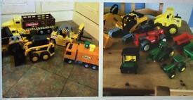 Tractors, diggers etc. JCB Tonka