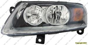 Head Light Passenger Side Halogen High Quality Audi A6 2009-2011