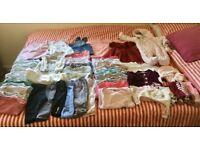 3-6 months girls clothes bundle