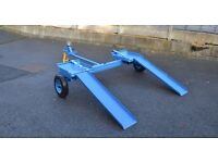 CAR RECOVERY TOWING DOLLY TRAILER