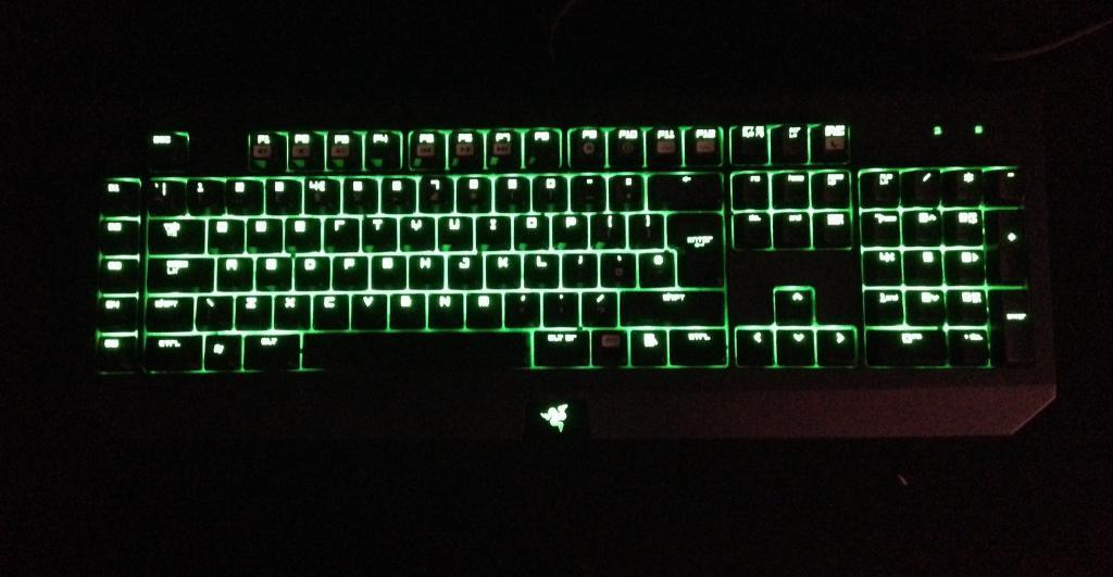 ff092b2cab8 Razer Black Widow Ultimate Elite mechanical gaming keyboard for sale. Only  £60 ONO