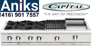 "Culinarian 60"" Gas Range Top  Model # CGRT604BG2 Premium brands at lowest prices. Best kitchen appliance package deals i"