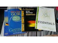 3 gcse German revision books