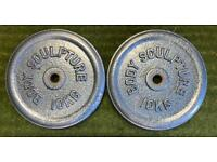 Cast Iron Metal Weight Plates 40kg