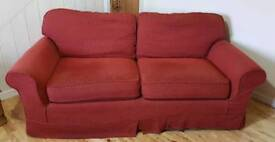 Large Reupholstered Sofa Free Local Delivery Alnwick Area