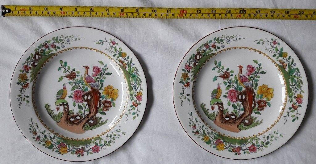 "Spode Copeland's China ""Asiatic Pheasant"" Plates (pair of ..."