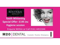 Tooth whitening offer -