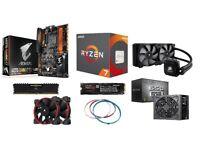 AMD Ryzen 1800X 3.6Ghz Gaming PC Win10 250GB M.2 8Gb DDR4 RRP 1,155.09