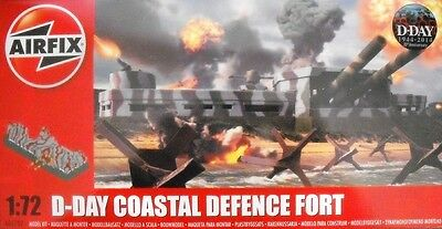 1/72, Airfix A05702, D-Day Coastal Defense Fort Plastik, Bunker ,  OVP