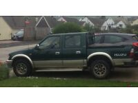2002 ISUZU TFS 3.1 Turbo Diesel Crew Cab Pick Up
