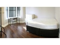 2 double rooms available in quiet, clean house share. Recently renovated. £330/£350 pcm all incl.