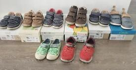Large boys shoe bundle sizes 5-8, clarks,start rite,geox,sketchers)