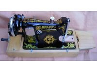 MANUAL SEWING MACHINE with Accessories & Carrying Case by ` PFAFF ` £55 o.n.o.