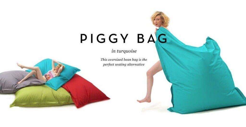 Amazing Extra Large Bean Piggy Bag Original Made Com Turquoise As New Ready For Summer 2018 In Aldgate London Gumtree Dailytribune Chair Design For Home Dailytribuneorg