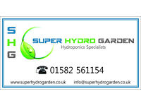 Hydroponic Retail Shop - Buy Lights, Tents, Nutrients and much more! @SUPER HYDRO GARDEN LUTON