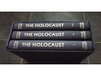 The Folio Society The Holocaust by Martin Gilbert - The Jewish Tragedy, in 3 volumes