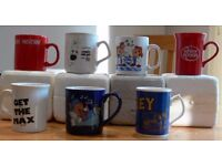 Ceramic Mug Collection - Tea and Coffee Advertising