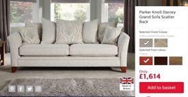 Parker Knoll Darcey Scatter Back Grand Sofa