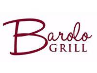 Chef de Partie required for Barolo Grill