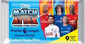 Match Attax 2017-18 card - swaps needed